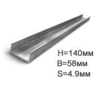 Швеллер п образный металлический размеры